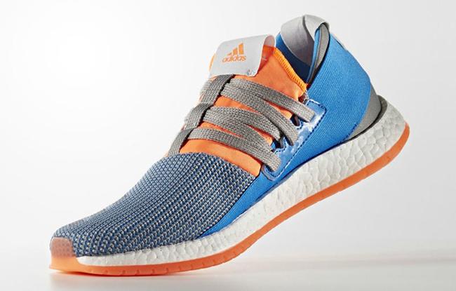 adidas Pure Boost Raw Blue Orange