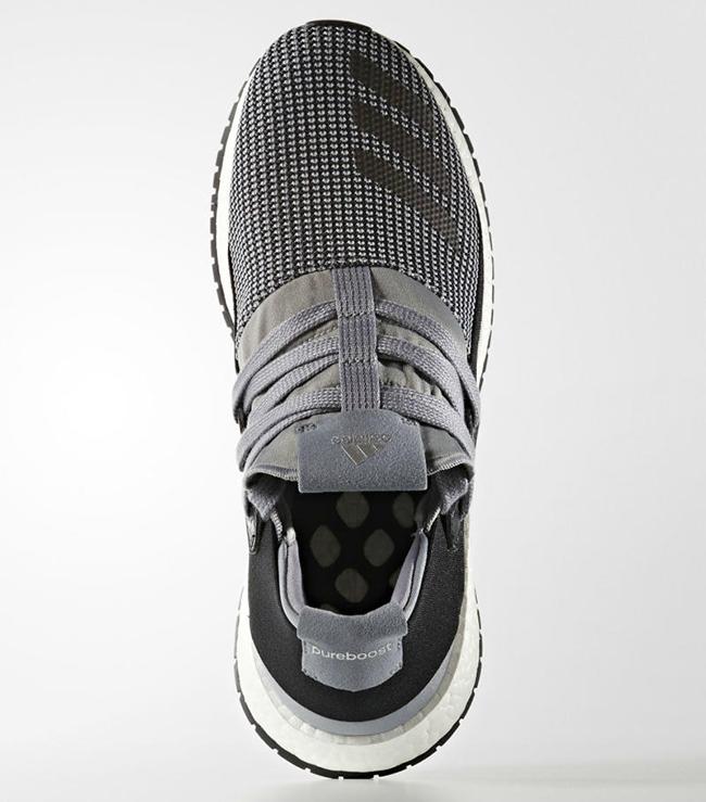 adidas Pure Boost Raw Grey Black
