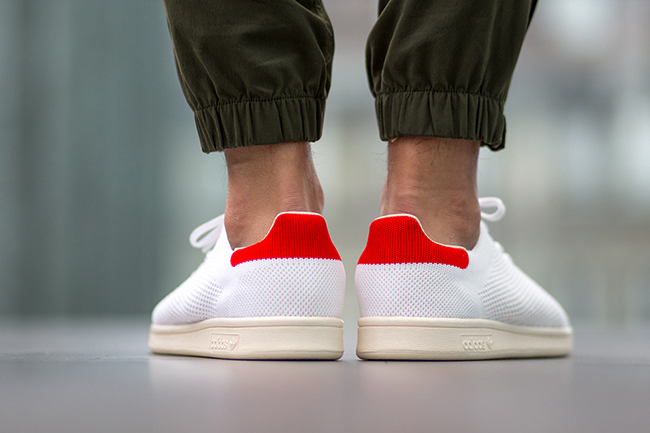 adidas Stan Smith OG Primeknit White Red