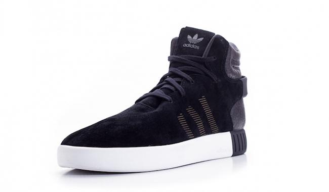 adidas Tubular Invader Black White