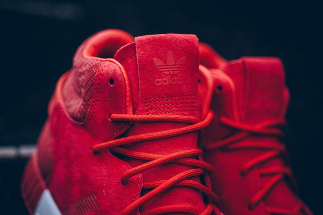 new style b66fa bf27f adidas Tubular Invader Red White | SneakerFiles