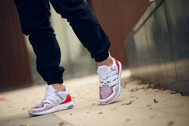 Adidas Ultra Boost White Red