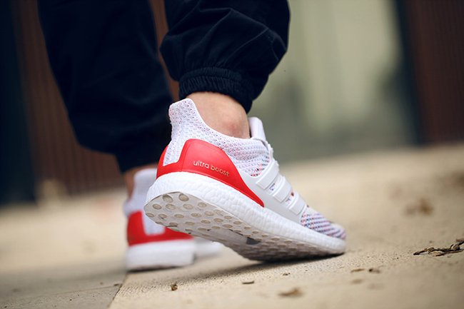 Adidas Ultra Boost Multicolor White Red Sneakerfiles