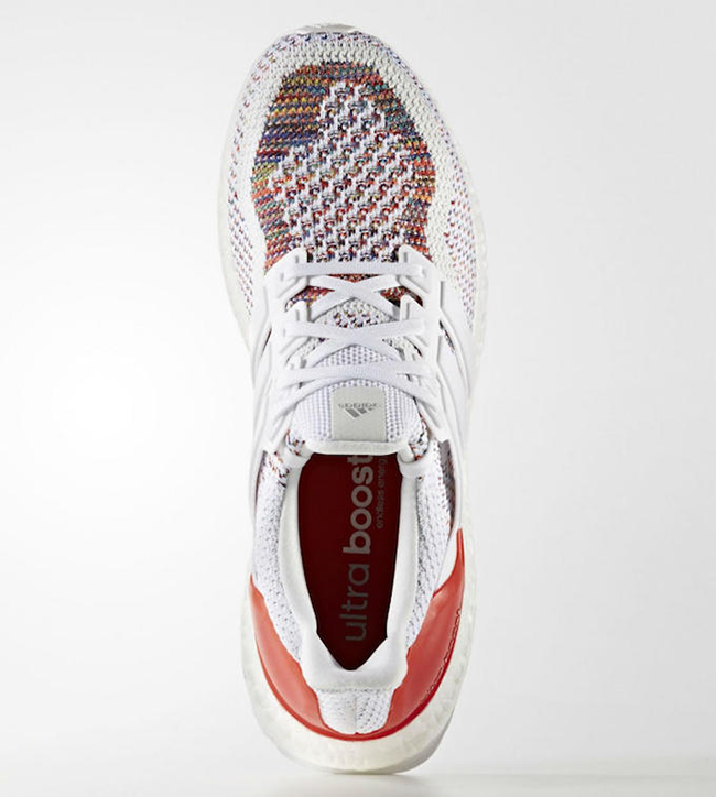 adidas Ultra Boost Multicolor White Red