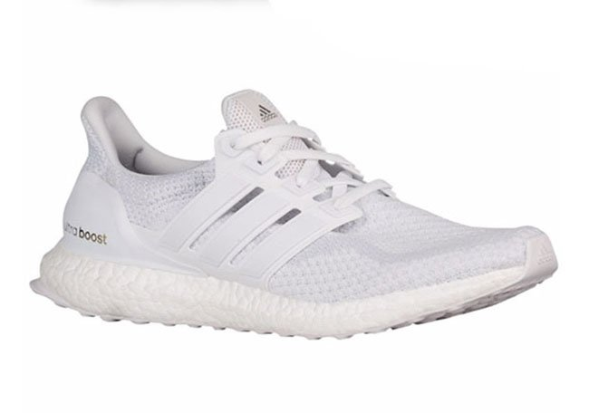 adidas Ultra Boost Triple White Restock Eastbay