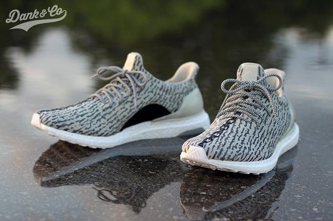 adidas Ultra Boost Turtle Dove Custom