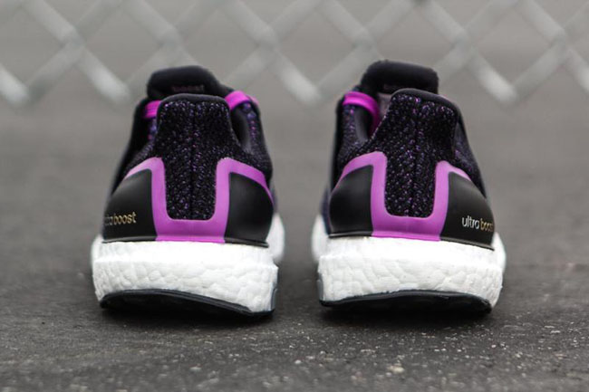 Adidas De Ultra Impulso Zapatos Para Mujer Negro / Púrpura Corriendo rMi0ikNHJ
