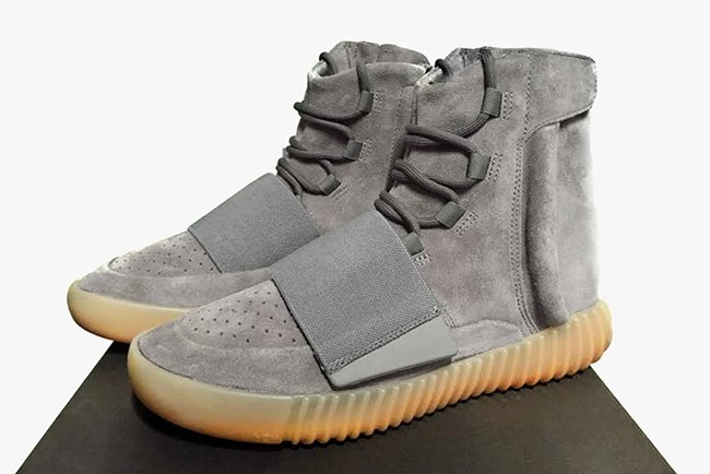 adidas Yeezy 750 Boost Grey Gum Glow in the Dark