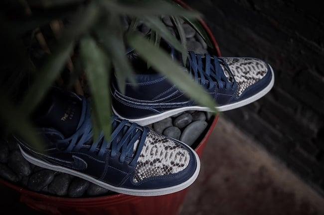 Air Jordan 1 Blue Horween Custom