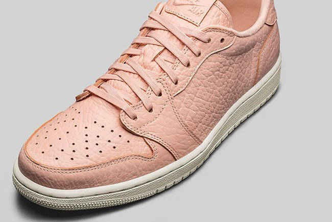 Air Jordan 1 Low No Swoosh Arctic Orange Sail
