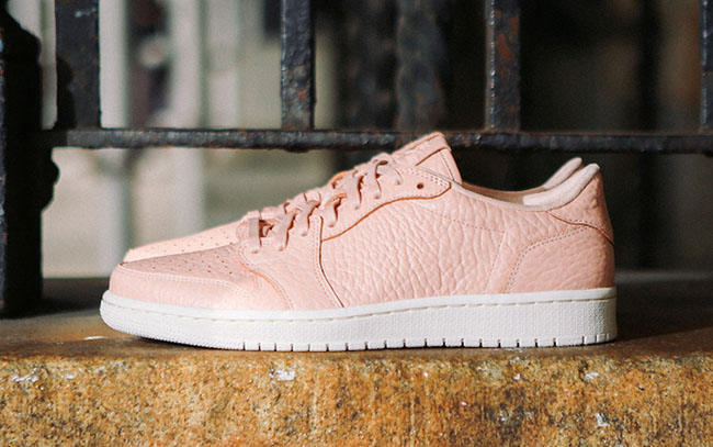 Air Jordan 1 Low No Swoosh Pink May 2016