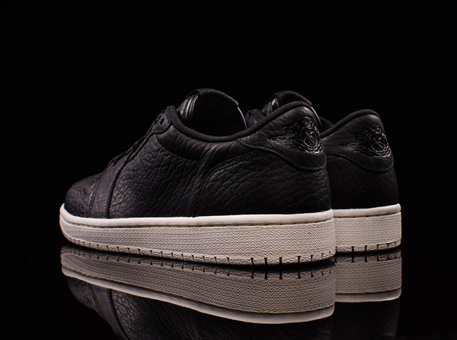 Air Jordan 1 Retro Low Black Sail