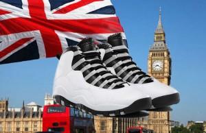 Air Jordan 10 London City Pack