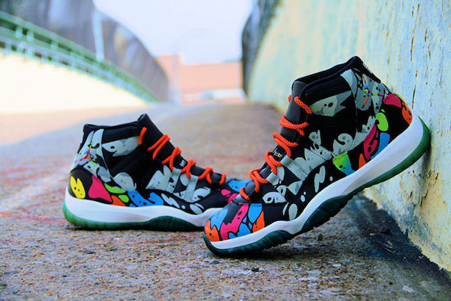 Air Jordan 11 I See Colors Custom
