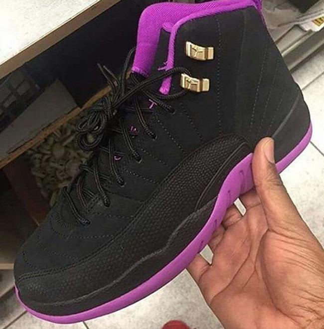 Jumpman Jordan Purple And Black 12  5aed36d9d