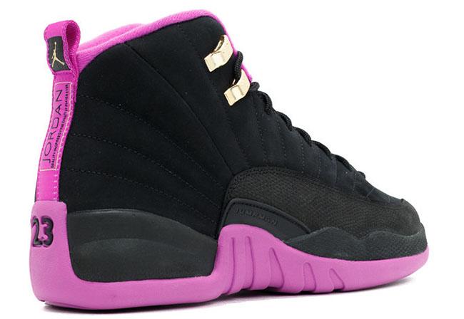 brand new 14807 3a496 Air Jordan 12 GS Black Hyper Violet Release Date | SneakerFiles