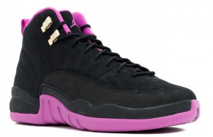 Air Jordan 12 GG Black Hyper Violet