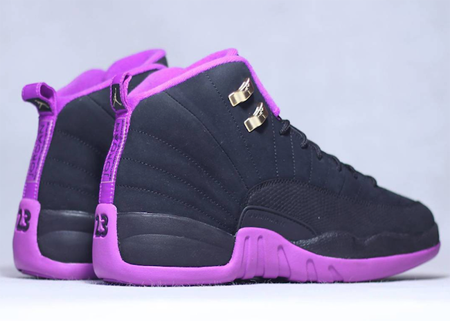: Nike releases official images of the Air Jordan 12 GS in Purple ...