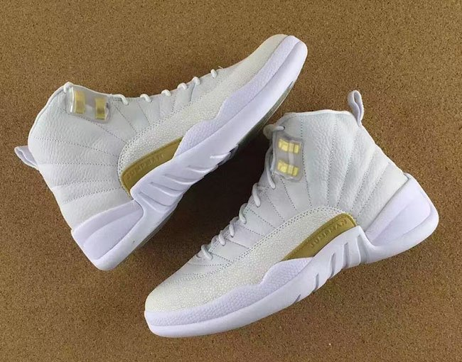 the latest e82ea 1e7e7 Air Jordan 12 Retro OVO White Gold