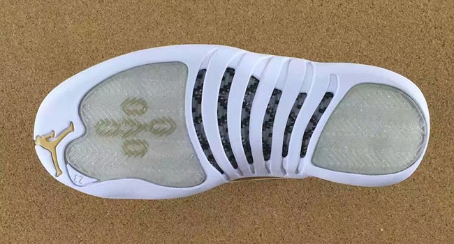 Air Jordan 12 Retro OVO White Gold