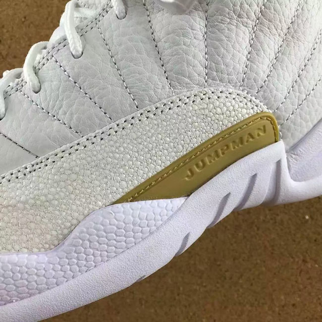 Air Jordan 12 Retro OVO White Gold