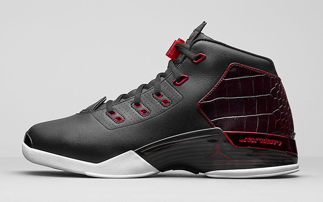 Air Jordan 17 Bulls Black Red 2016