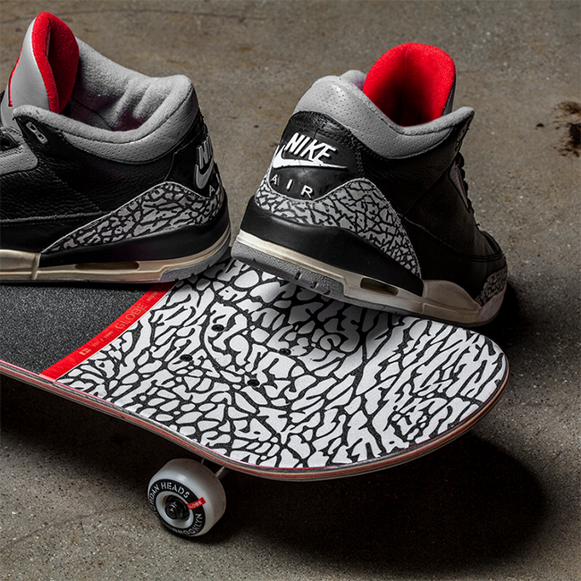 Air Jordan 3 Skateboard Elephant Print Sneakerfiles