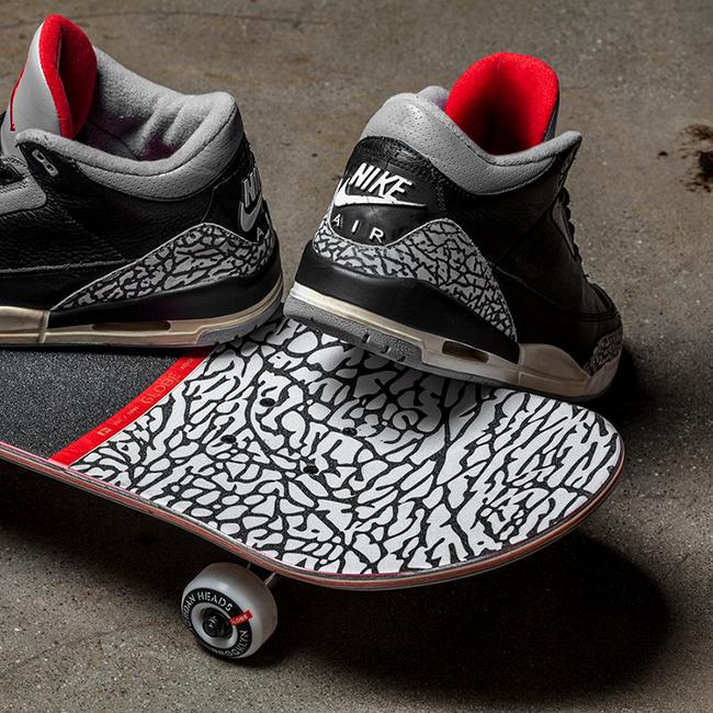 Air Jordan 3 Skateboard Elephant Print