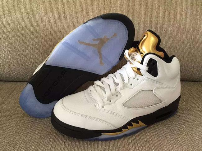 Air Jordan 5 Gold Medal Olympic Release Date