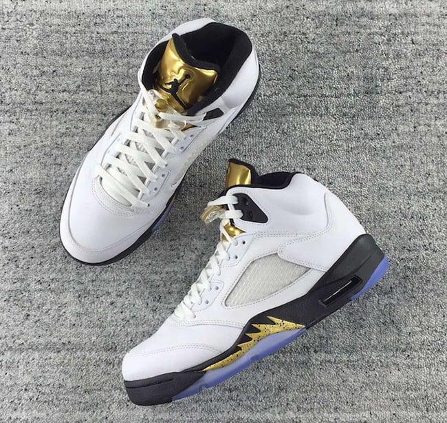 Air Jordan 5 Olympic Gold Medal 2016