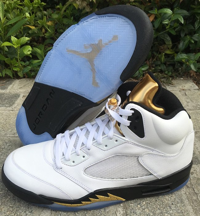 Air Jordan 5 Olympic Gold Medal 2016  5b2911b83