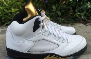 Air Jordan 5 Olympic Gold Medal