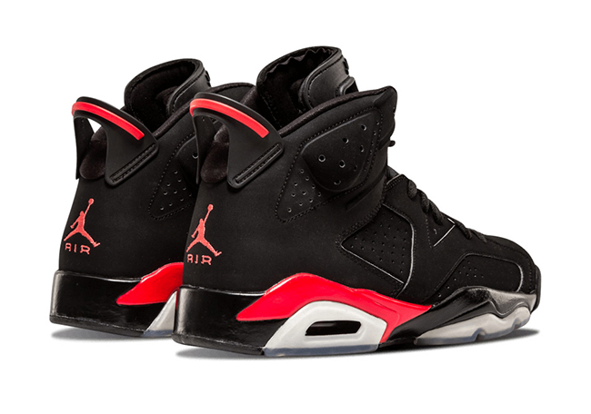Air Jordan 6 Infrared Alternate Sample
