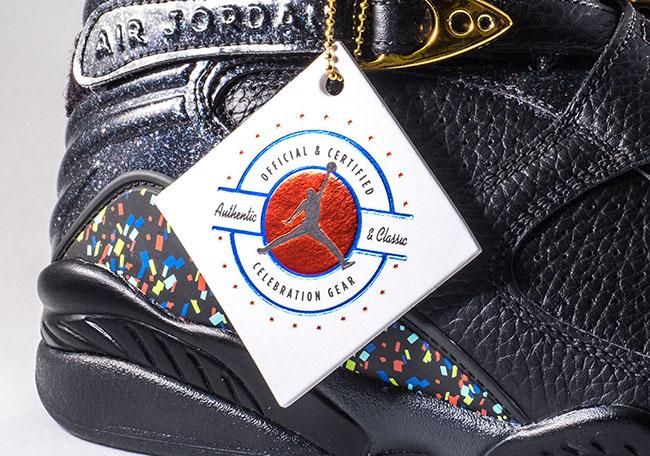 Air Jordan 8 Confetti Champagne Championship Pack