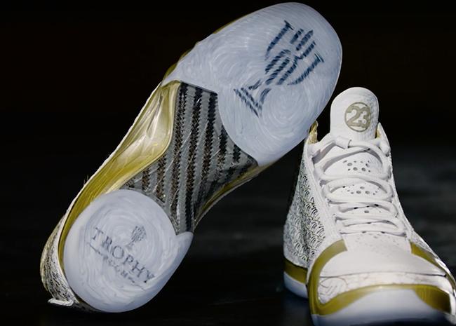 Air Jordan XX3 Trophy Room White Gold 523