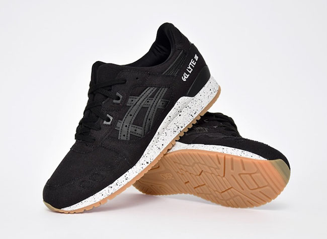 Asics Gel Lyte III Canvas Black Gum