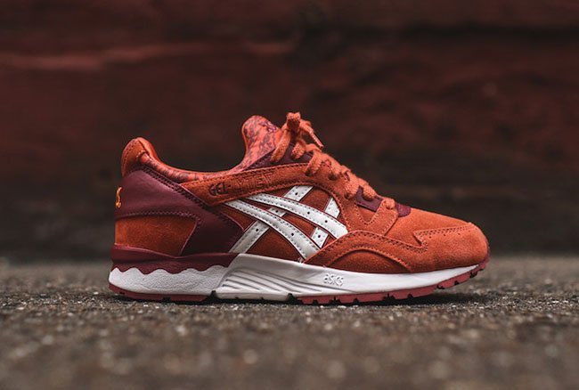 reputable site e7b0a cf590 Asics Gel Lyte V Red Burgundy | SneakerFiles