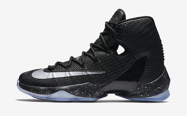 Black Nike LeBron 13 Elite
