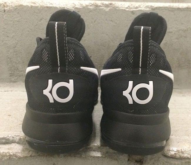 Black White Nike KD 9