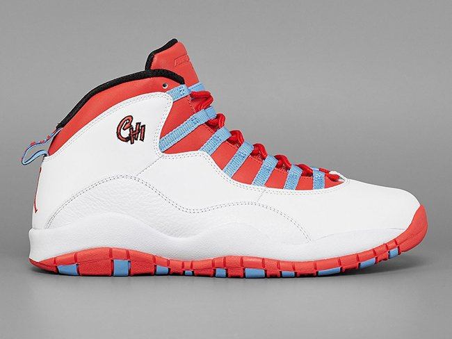 Chicago Air Jordan 10 Flag Retro
