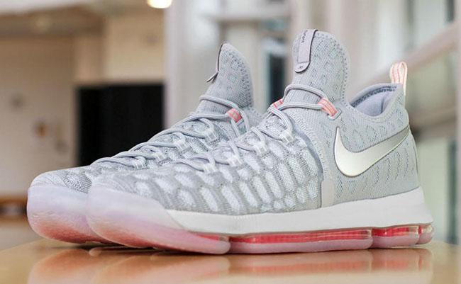 Cool Grey Pink Nike KD 9