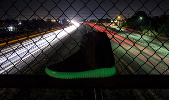 Glow in the Dark Yeezy 750 Release