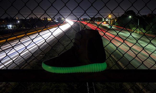 Glow in the Dark Yeezy 750 Release