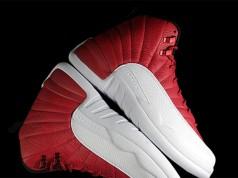 Jordan 12 Red White Retro