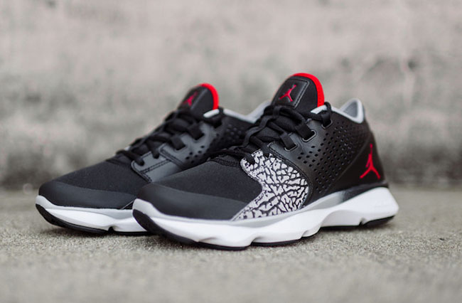 Jordan Flow Trainer Black Cement