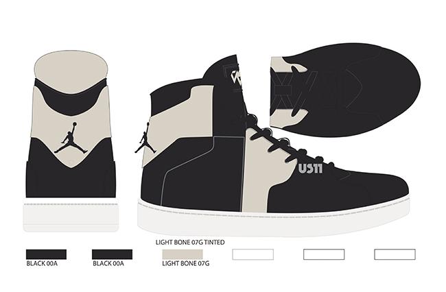 Jordan Westbrook 0.2 Light Bone Black