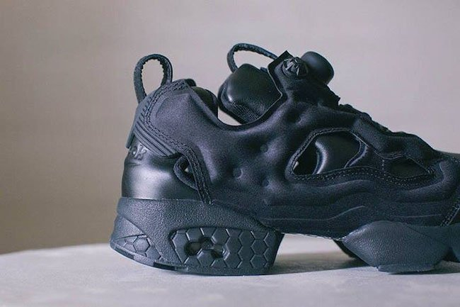 Journal Standard Reebok Insta Pump Fury Triple Black
