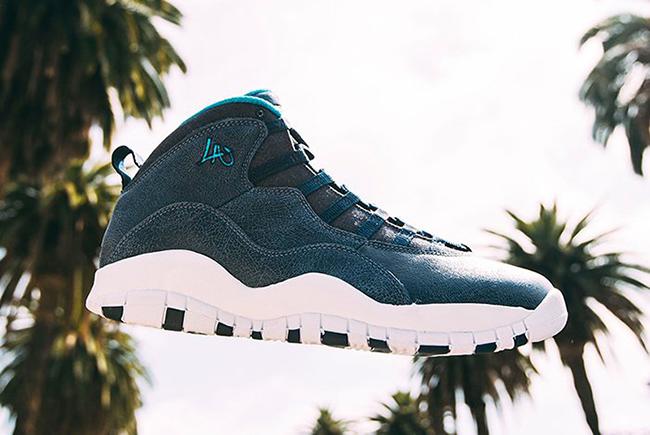 LA Air Jordan 10 City Release