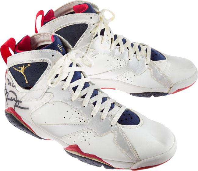 Michael Jordan Air Jordan 7 Olympic