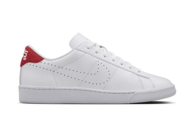 Nai Ke Nike Tennis Classic White Red